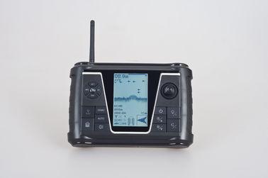Peças do barco da isca para o monofone de controle remoto com LCD de alta resolução, duplex completo de Digitas