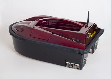 Barco de controle remoto da isca do inventor dos peixes da hélice gêmea vermelha com sistema de alarme audível RYH-001C